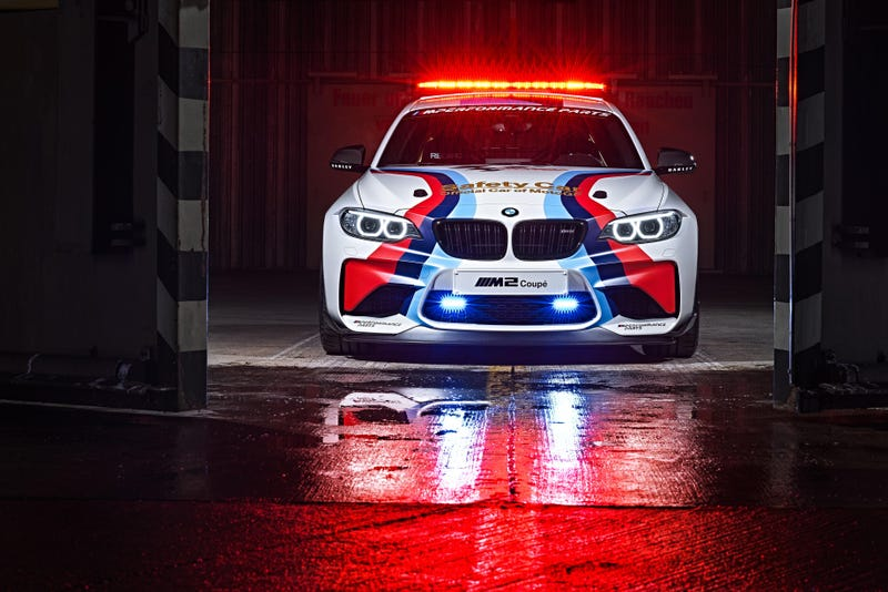 The BMW M2 Gets Decked Out In Gold To Become MotoGP's Badass New Safety Car