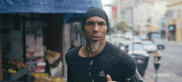 The surprising reason why this guy runs two hours every day