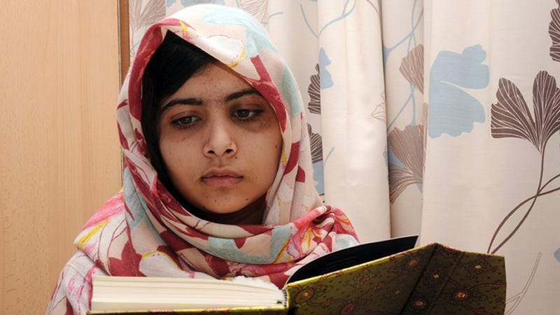 Teenage Superhero Malala Yousafzai Back in School Today