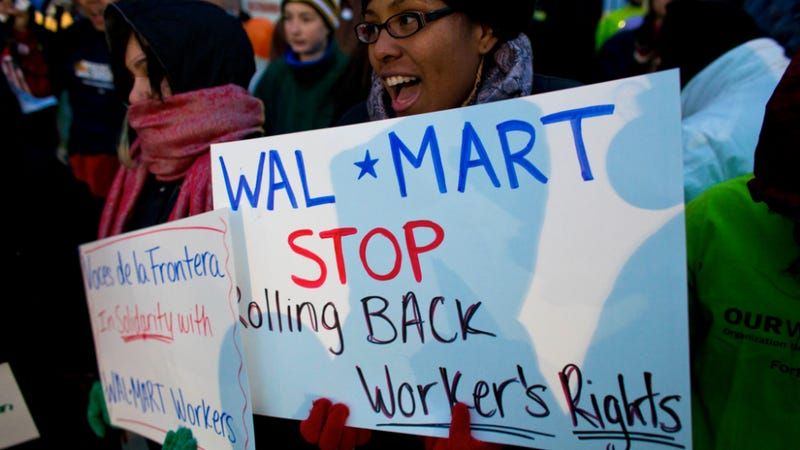 Wal-Mart Pledges To Buy $50 Billion Worth Of U.S.-Made Goods