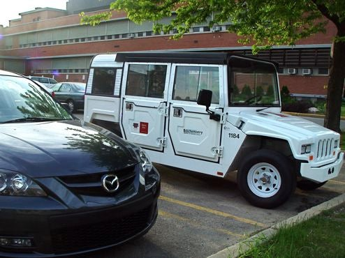Electric Mini-Hummer Spotted In The Wild