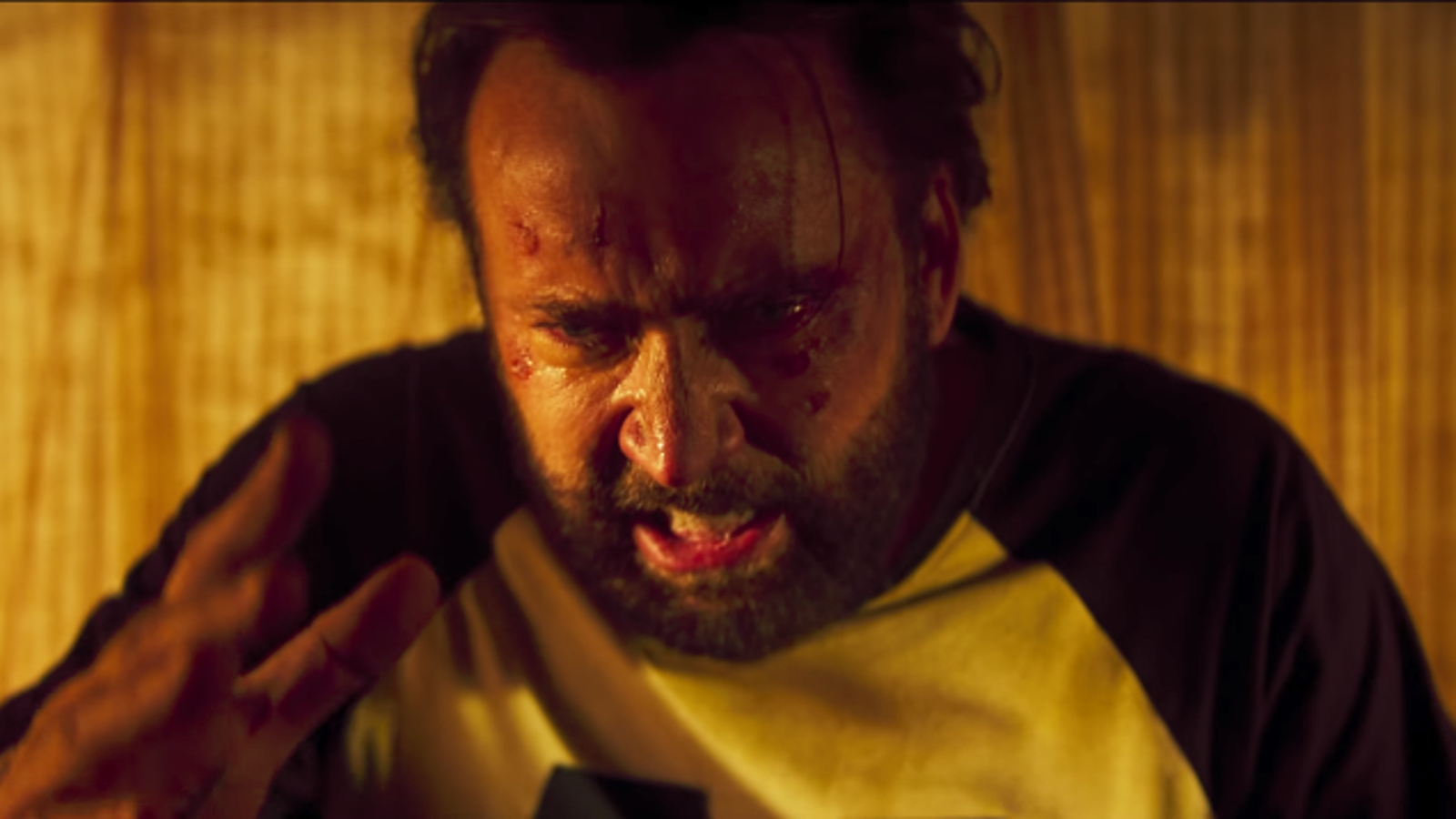 Today in Trailer Happy Hour: Nicolas Cage has a motherfucking chainsaw