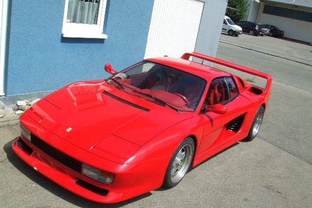 this ferrari is not an f40. Black Bedroom Furniture Sets. Home Design Ideas