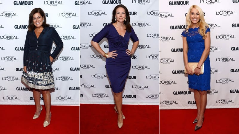 Power Ensembles and Lace at the Glamour Women of the Year Awards