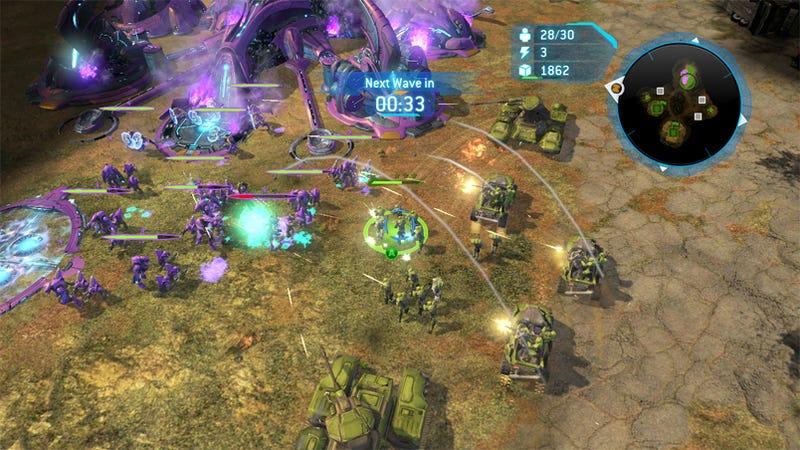 Halo Wars DLC Presents Strategic Options
