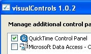 Visual Controls Manages Third-Party Control Panel Extensions