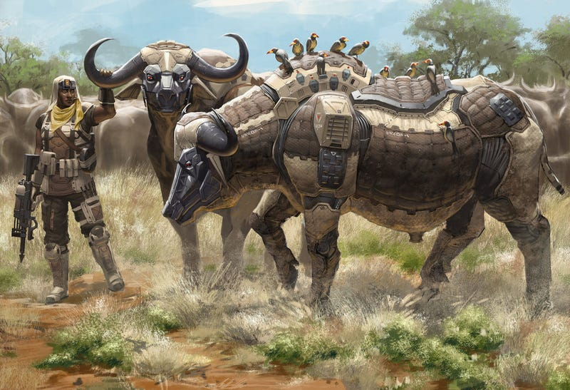 Robots shaped like African animals join the fight against poachers