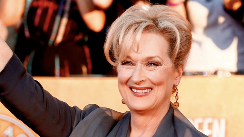Meryl Streep Says Guys Don't Identify With Lady Characters