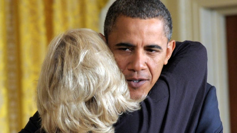 Obama Cures Everyone's Wednesday With a Hug