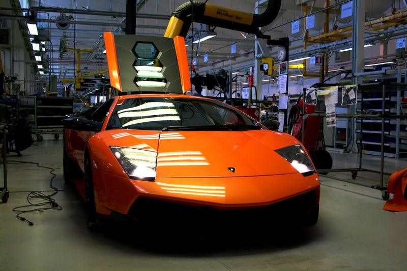 National Geographic Tours Lamborghini Factory In HD