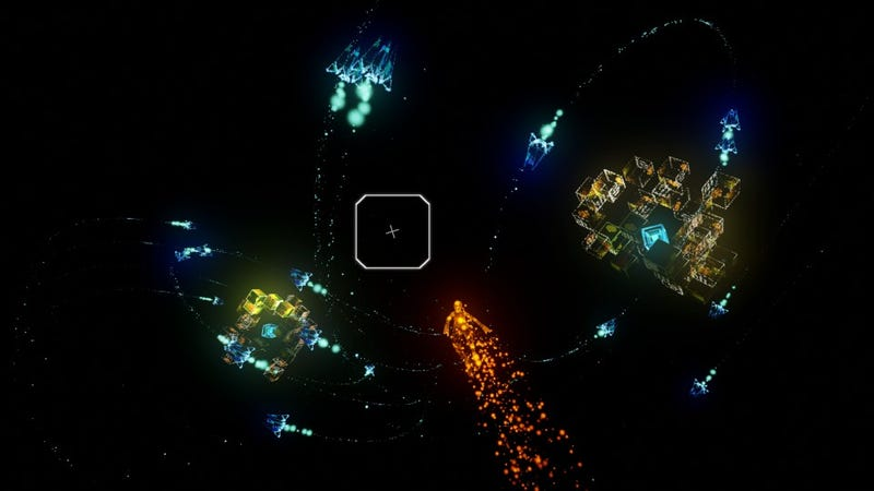 Rez Infinite's Area X Is An Incredible Japanese VR Experience