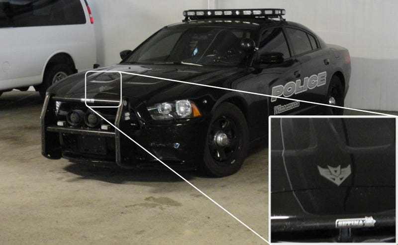 Check Out This Badass Real Life Transformers Cop Car