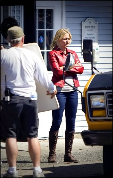 Once Upon a Time set photos
