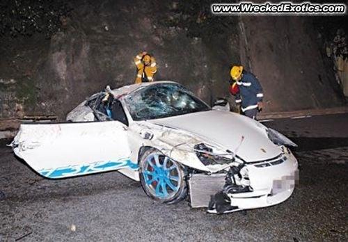 2004 Porsche 911 GT3 RS Crash