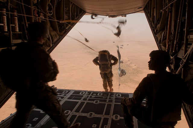 Why Is the U.S. Air Force Ordering Tents for an Airstrip in Niger?