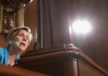 Elizabeth Warren, dropping science