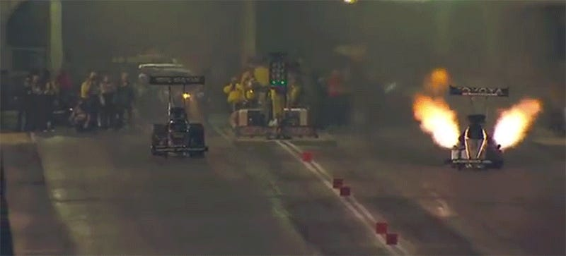 NHRA Racer Antron Brown Walked Away From This Huge Explosion