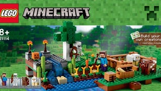 Photos of new Lego Minecraft sets leaked