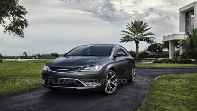 2015 Chrysler 200. Chrysler's WRX, kinda.
