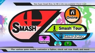 Redesigning the Smash Bros Menu!