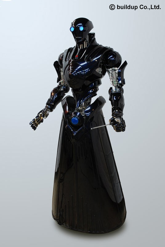 Grim Reaper-Like Type 02 Vinegar Bot
