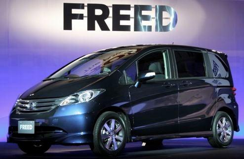 Honda Freed, A Fit Mini-Minivan