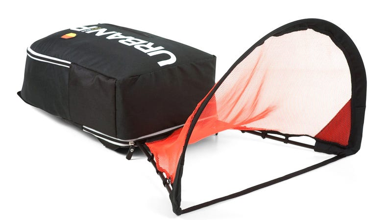 Cram All Your Soccer Gear, Including a Net, Into This Backpack