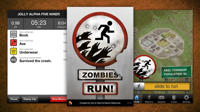 Zombies, Run! Turns Your Exercise Routine into a Game of Survival
