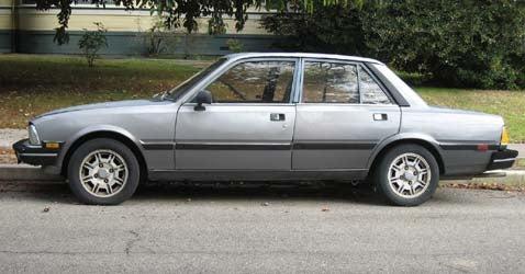 1985 Peugeot 505 STI