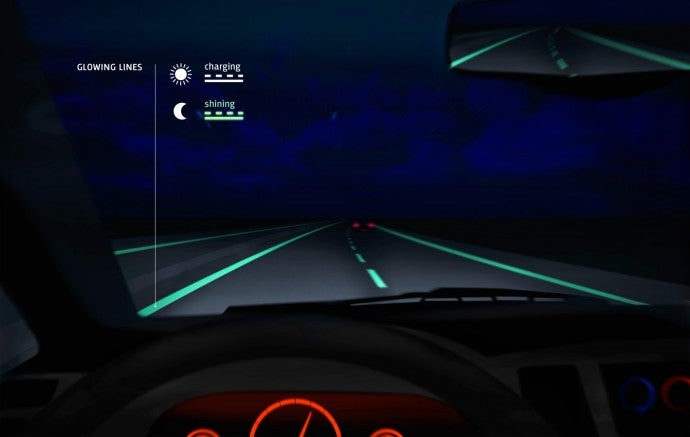Glowing Road Lines, It's About Time, Right?