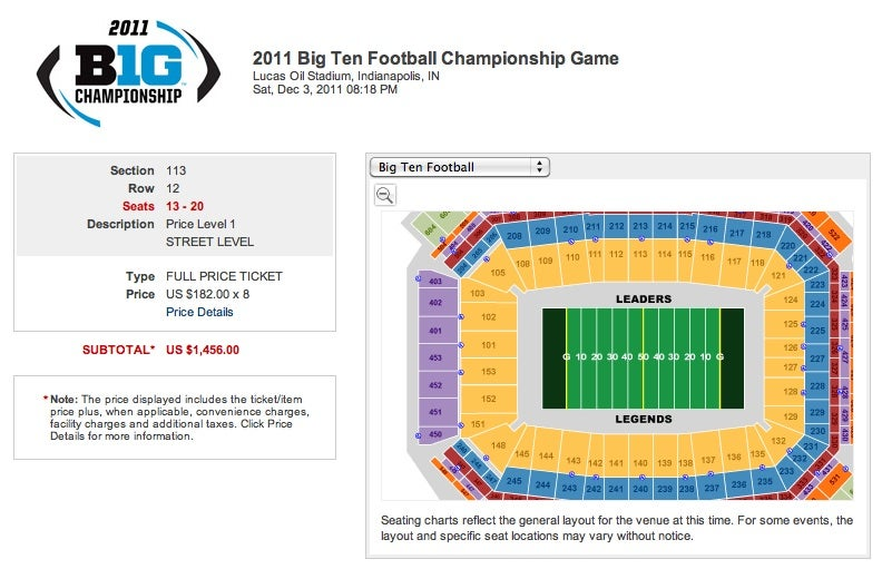 Someone Is Offering To Pay People $75 To Attend The Big Ten Championship Game
