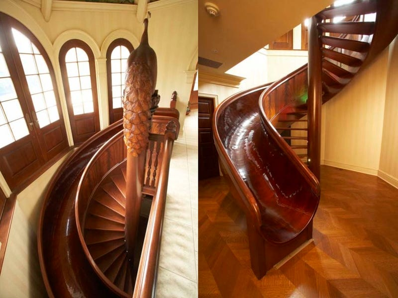 These Insane Houses Have Indoor Slides