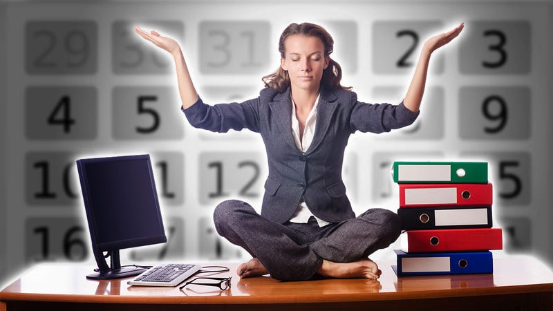 The Office Worker's Schedule for Healthy Living Behind a Desk