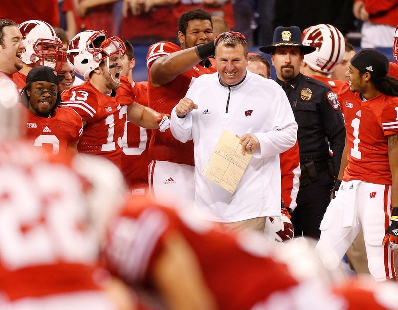 Report: Arkansas Will Hire Wisconsin's Bret Bielema To Be Its Football Coach