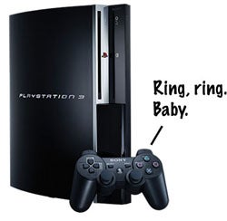 PS3 to Hook Up With Your Cellphone