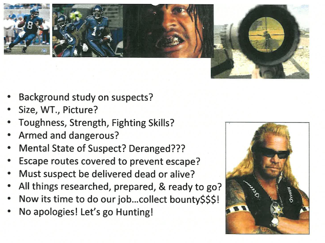 Here's The NFL's Bounty Evidence, Including Gregg Williams's Actual Dog The Bounty Hunter Reference