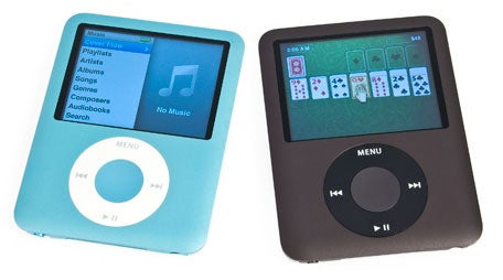 Refurb Blue and Black iPod Nano 8GB for $135