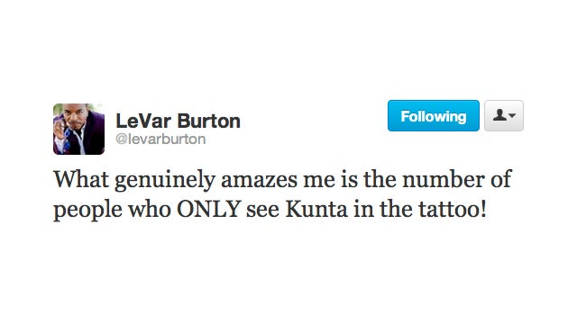Kunta Kinte Shows Off Some Serious Ink