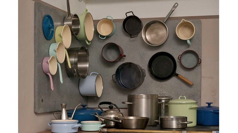 Magnetic Panels Turn Your Kitchen Walls Into Extra Storage Space