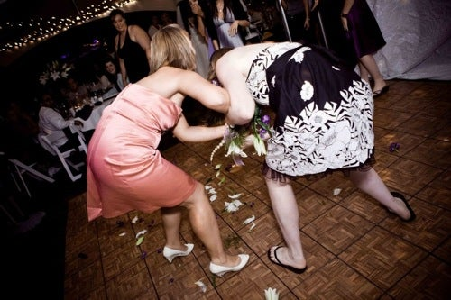 Chicks Getting Hitched: Tossing The Bouquet And Other Wedding Traditions