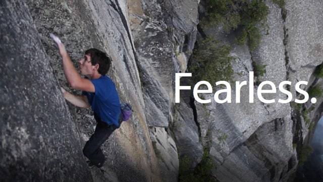 60 Minutes Shows How to Film a Free Solo Mountain Climber Thousands of Feet in the Air
