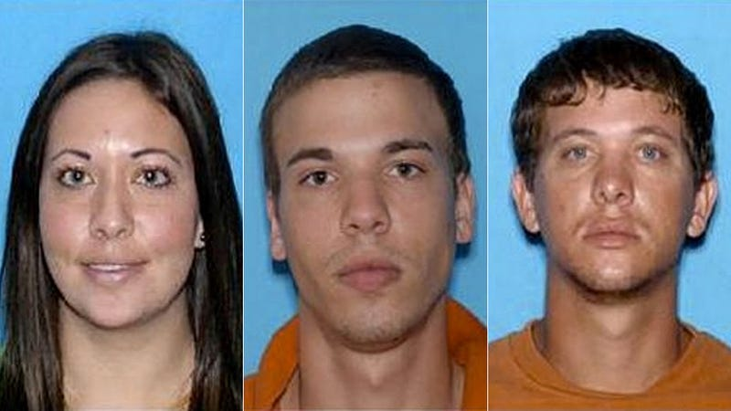 Bank-Robbing Stripper and Brothers Caught After Car Chase, Gun Battle