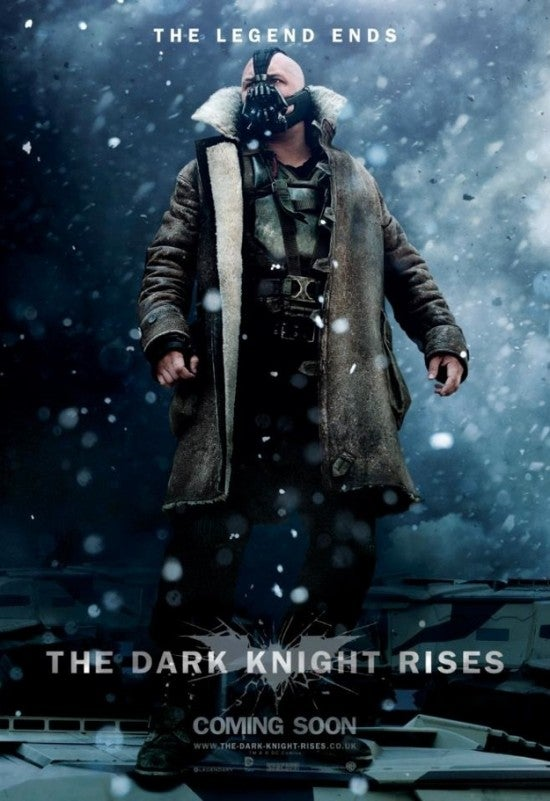 International Character Posters for The Dark Knight Rises