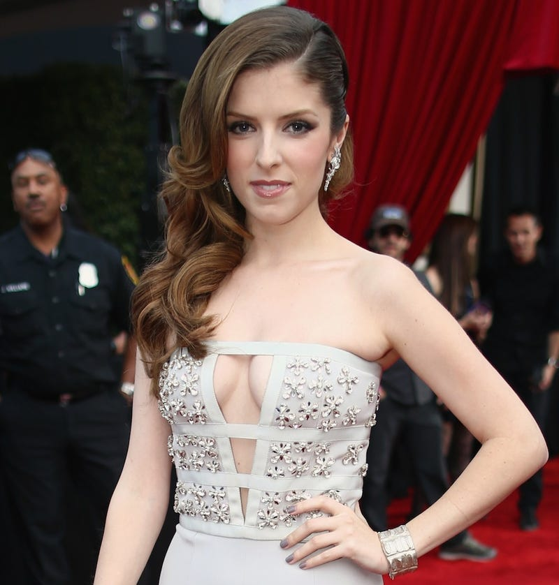 "​Anna Kendrick: Katy Perry Aggressively ""Finger-Banged My Cleavage"""