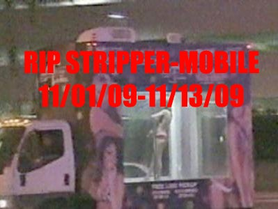 Las Vegas Stripper-Mobile Ends Its Reign of Sexy Terror