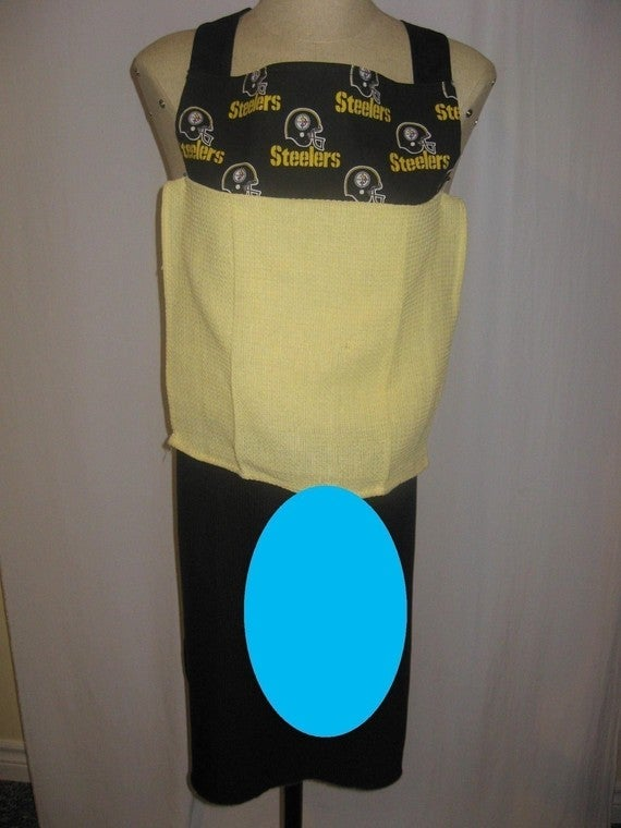 Happy Father's Day: Here's A Steelers Apron With An Attached Fake Penis