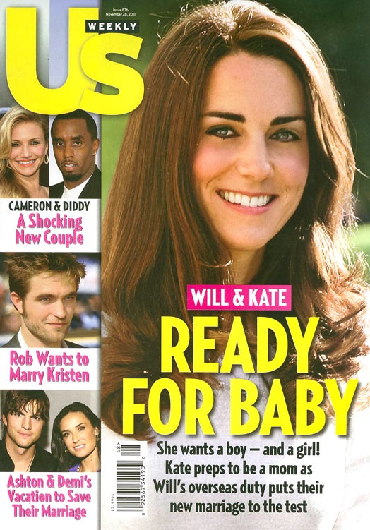 This Week In Tabloids: Kate Middleton Faints From Carrying Imaginary Royal Twins