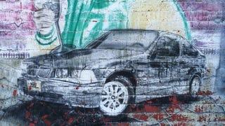 E36 Compact, Street Art Edition