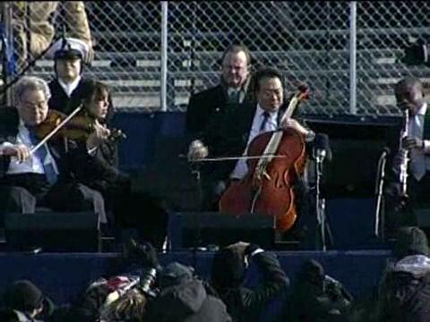 Itzhak and Yo-Yo Go Milli Vanilli With John Williams's Inaugural Soundtrack