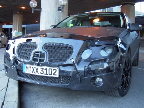 2010 Mercedes Benz E-Class Spotted Outside Of Swedish Airport